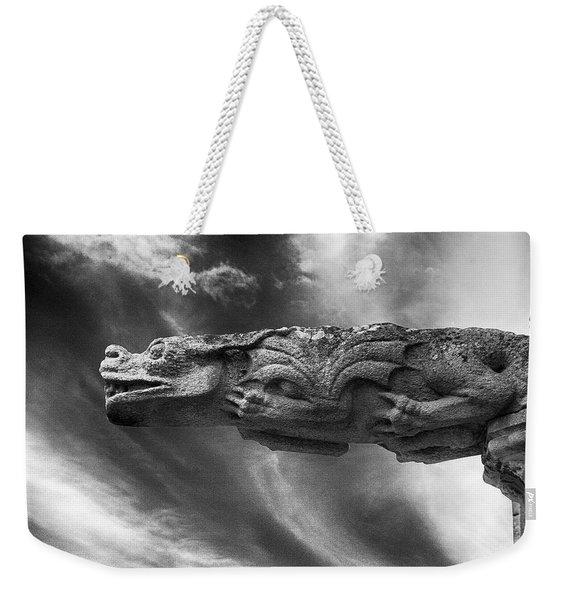 Storm Dragon Weekender Tote Bag