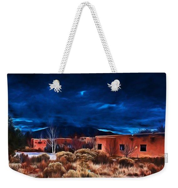 Storm Over Taos Lx - Homage Okeeffe Weekender Tote Bag