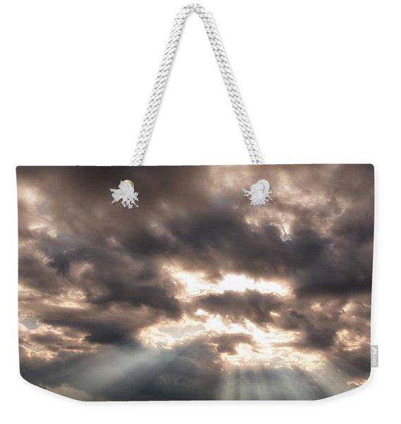 Storm Rays Weekender Tote Bag