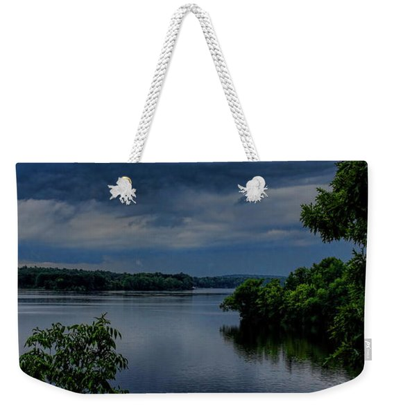 Storm Rolling Over Lake Wausau Weekender Tote Bag