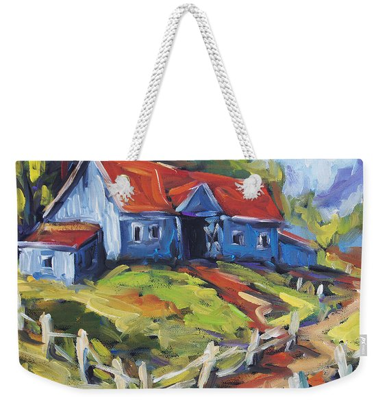 Storms A Brewin By Prankearts Weekender Tote Bag