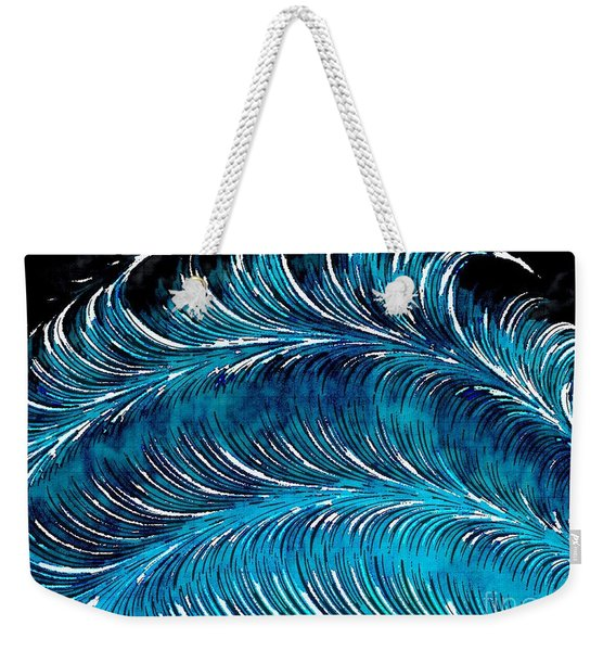 Storms At Sea Weekender Tote Bag