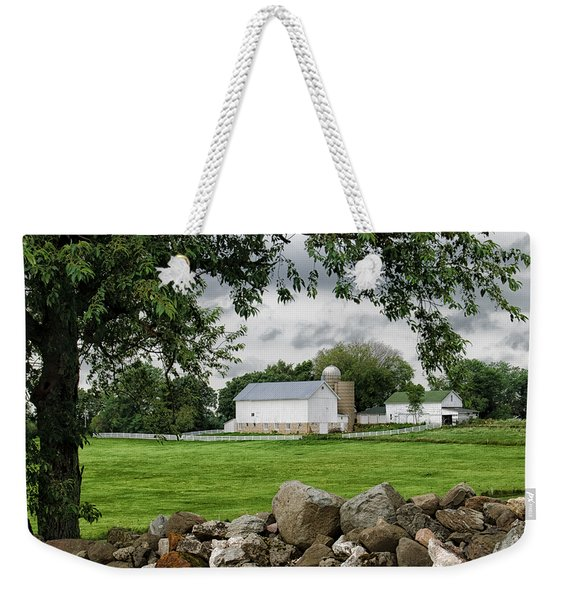 Storms On The Way Weekender Tote Bag