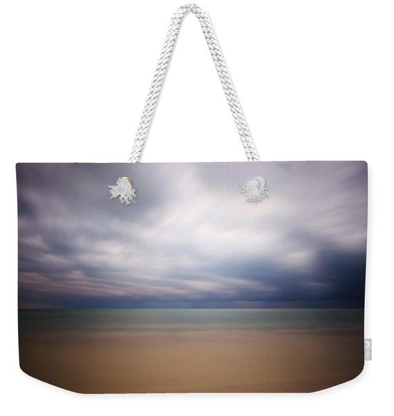 Stormy Calm Weekender Tote Bag