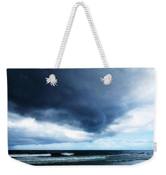 Stormy - Gray Storm Clouds By Sharon Cummings Weekender Tote Bag