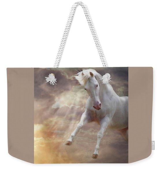 Stormy Weekender Tote Bag