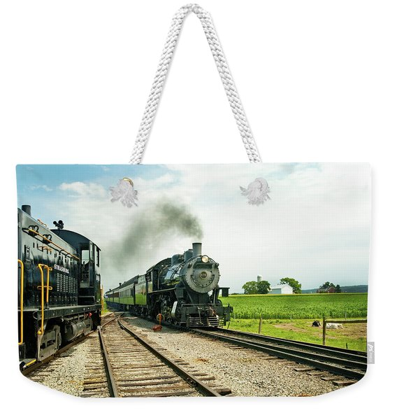 Strasburg Express Weekender Tote Bag