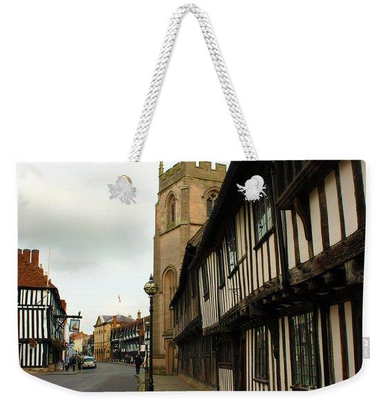 Stratford Almshouses And Guild Chapel Weekender Tote Bag