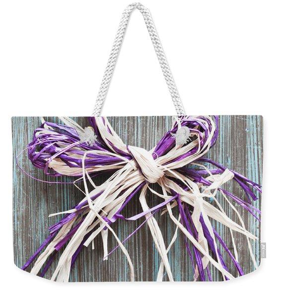 Straw Decoration Weekender Tote Bag