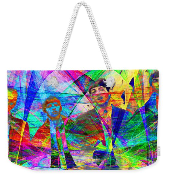 Strawberry Fields Forever 20130615 Weekender Tote Bag