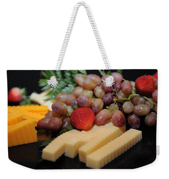 Strawberry Plus Weekender Tote Bag