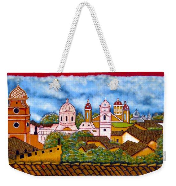 Street Art Granada Nicaragua 3 Weekender Tote Bag