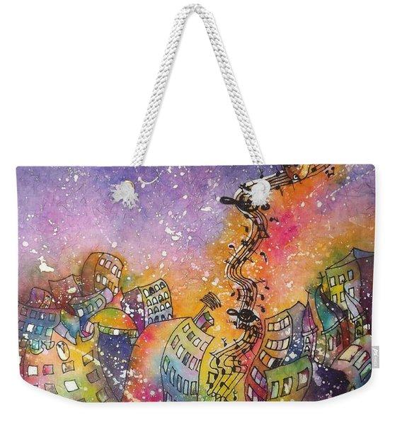 Street Dance Weekender Tote Bag