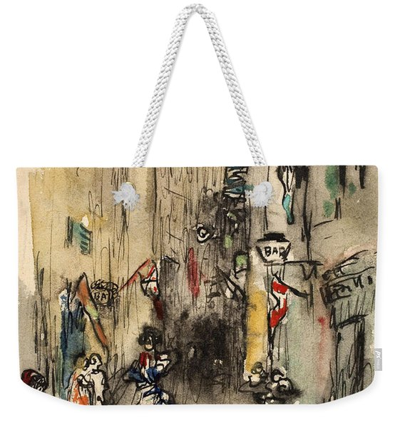 Street In Marseille Weekender Tote Bag