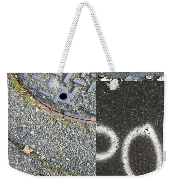 Street Level Weekender Tote Bag