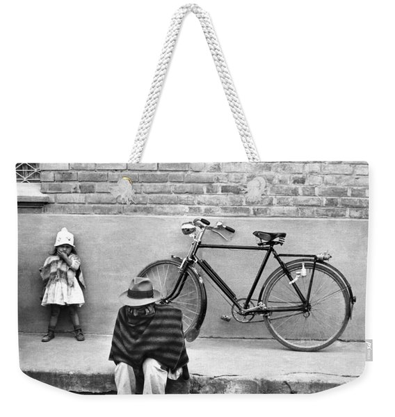 Street Scene In Colombia Weekender Tote Bag