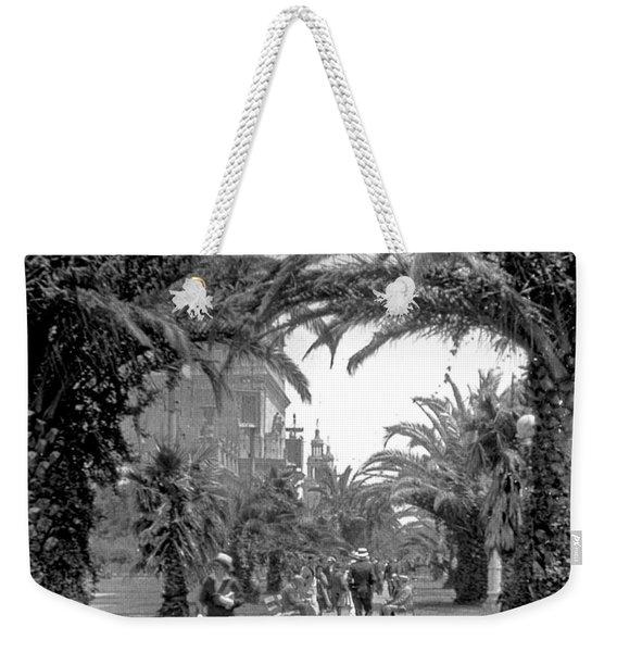 Avenue Of The Palms, San Francisco Weekender Tote Bag
