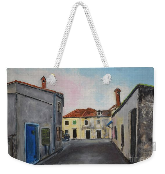 Street View From Kavran Weekender Tote Bag