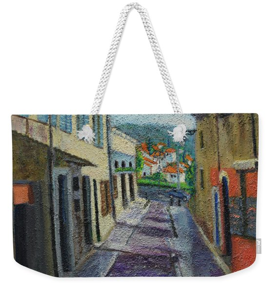 Street View From Provence Weekender Tote Bag
