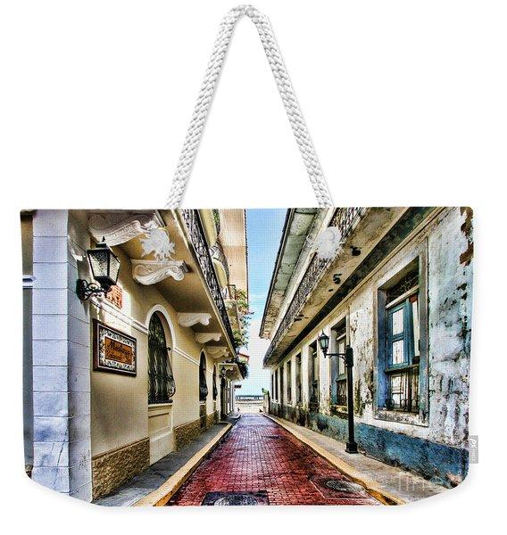 Streets Of El Casco Viejo 2  Weekender Tote Bag
