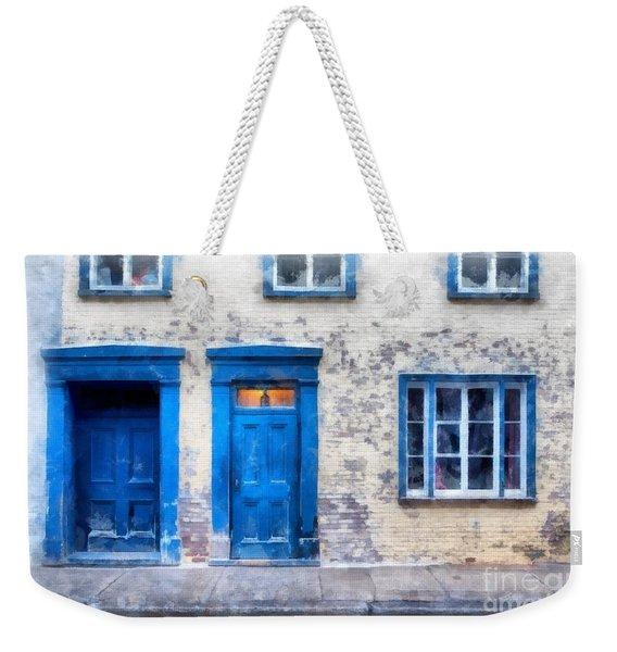 Streets Of Old Quebec 2 Weekender Tote Bag