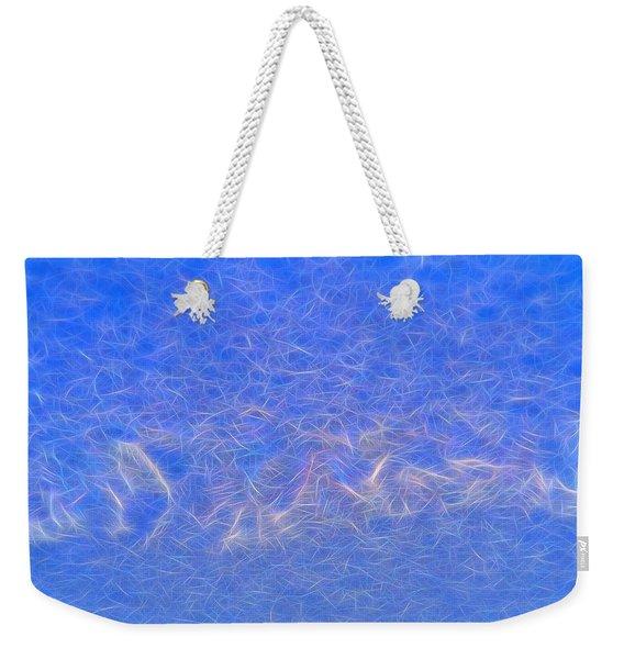 String Theory Light Beam Weekender Tote Bag