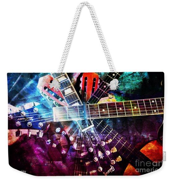 Strings Attached Weekender Tote Bag