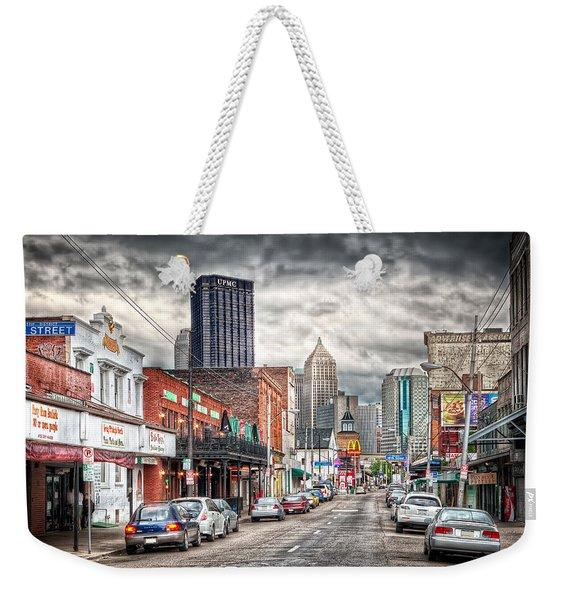 Strip District Pittsburgh Weekender Tote Bag
