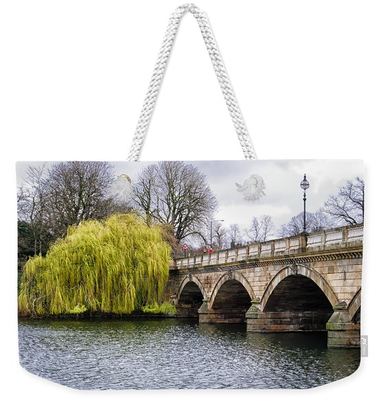 Stroll Along The Serpentine Weekender Tote Bag
