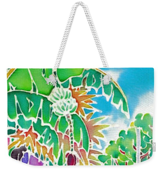 Strolling The Village Weekender Tote Bag