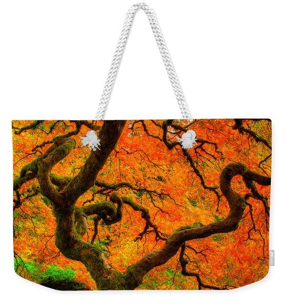 Structured Beauty Weekender Tote Bag
