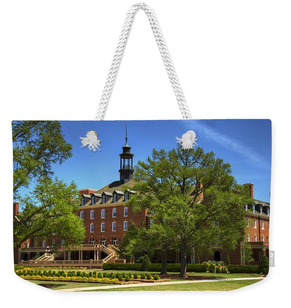 Student Union At Oklahoma State Weekender Tote Bag