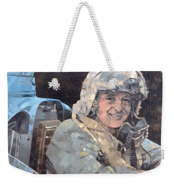 Study For Donald Campbell Oil On Canvas Weekender Tote Bag