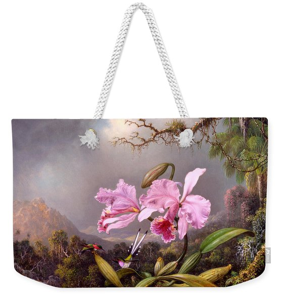 Study Of An Orchid Weekender Tote Bag