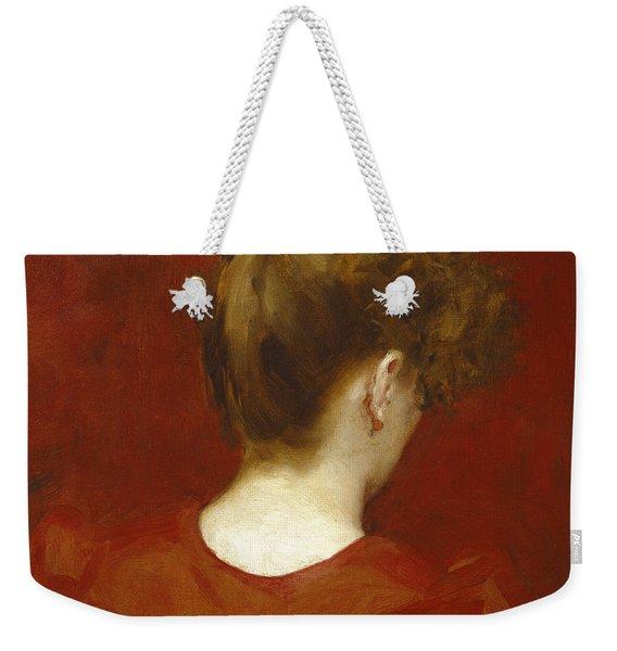Study Of Lilia Weekender Tote Bag