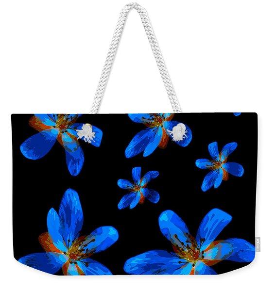Study Of Seven Flowers #1 Weekender Tote Bag