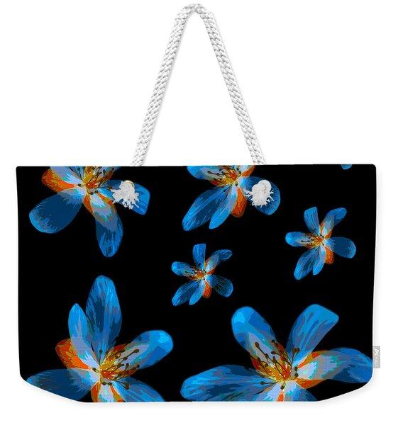 Study Of Seven Flowers #2 Weekender Tote Bag