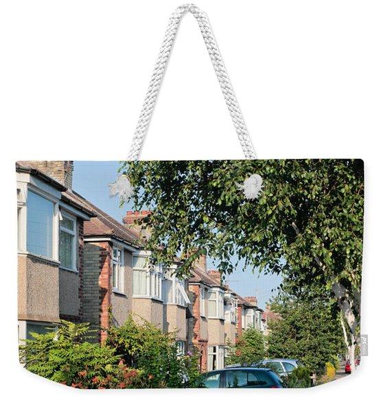 Suburban England Weekender Tote Bag