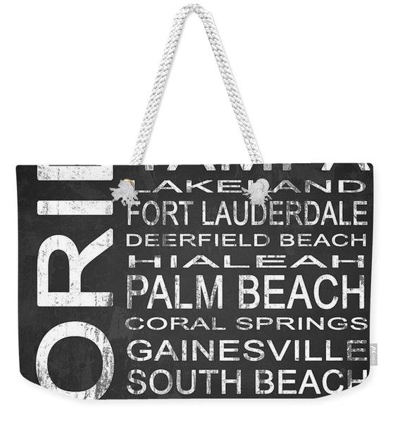 Subway Florida State 3 Weekender Tote Bag