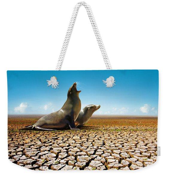 Suffering Seals Weekender Tote Bag
