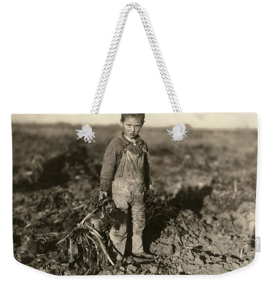 Sugar Beet Worker, 1915 Weekender Tote Bag