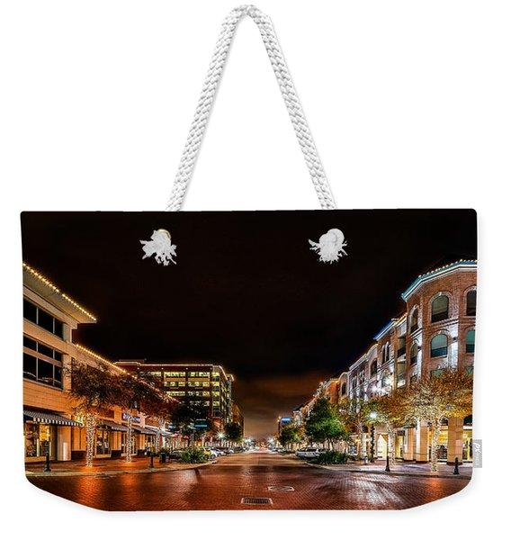 Sugar Land Town Square Weekender Tote Bag