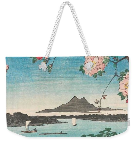 Suijin Shrine And Massaki On The Sumida River Weekender Tote Bag