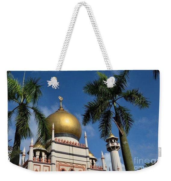 Sultan Masjid Mosque Singapore Weekender Tote Bag