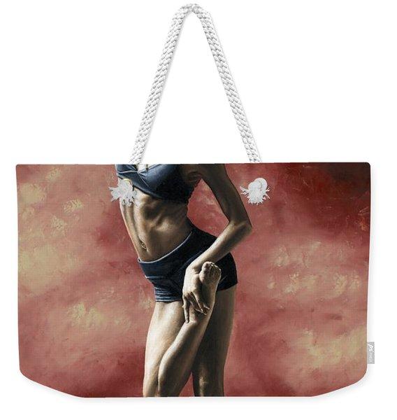 Sultry Dancer Weekender Tote Bag