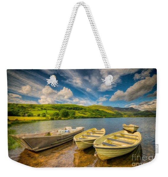 Summer Boating Weekender Tote Bag