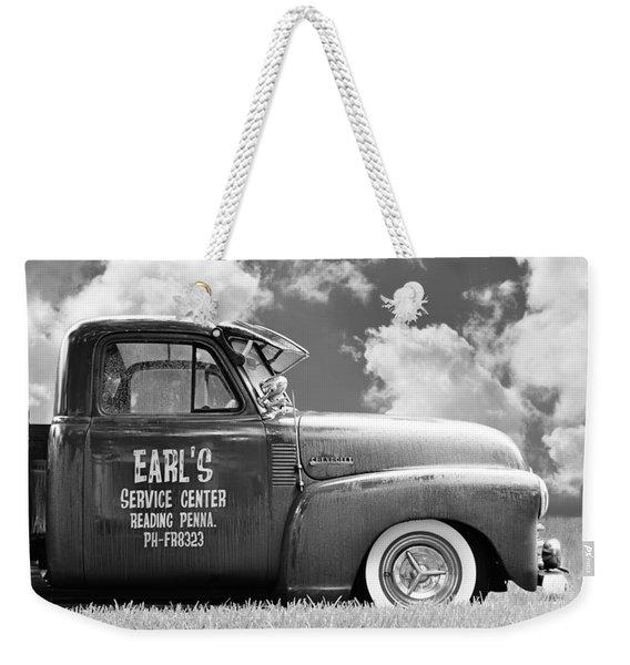 Summer Field Pickup Weekender Tote Bag