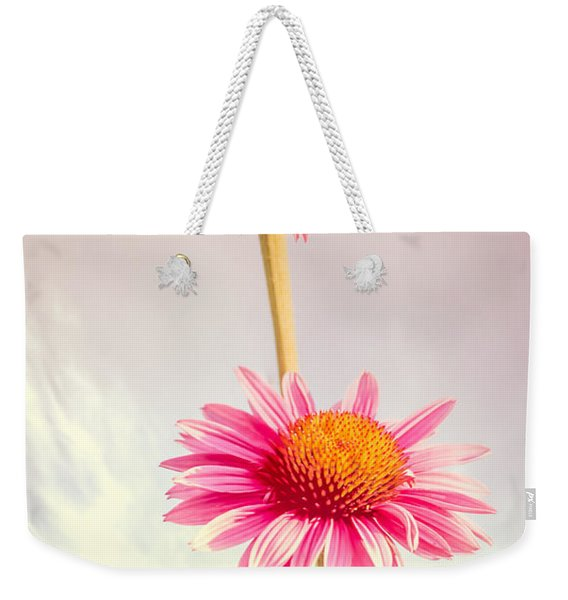 Summer Impressions Cone Flowers Weekender Tote Bag