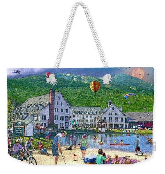 Summer In Waterville Valley Weekender Tote Bag