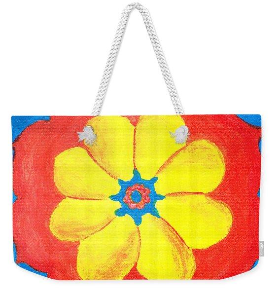 Summer Mandala Weekender Tote Bag